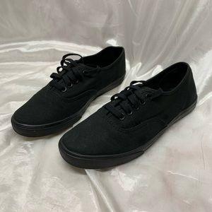 Black Vans